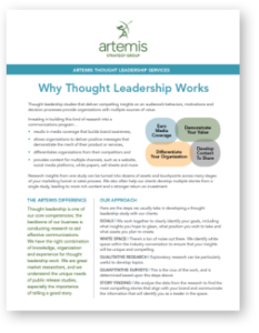 Why Thought Leadership Works